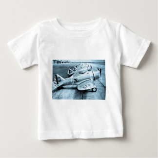 Seversky P-35 Vintage WWII Fighter Planes Tee Shirts