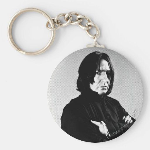 Severus Snape Arms Crossed Basic Round Button Keychain