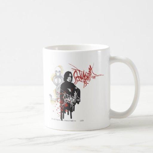 Severus Snape Sectum Sempra Basic White Mug