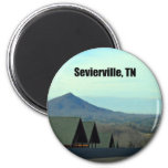 Sevierville, Tennessee Fridge Magnets