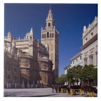 Sevilla, Spain   La Giralda Ceramic Tile