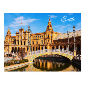 Seville Spain postcard