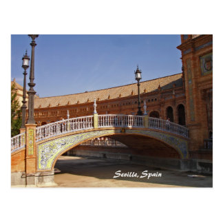 Seville, Spain Square postcard
