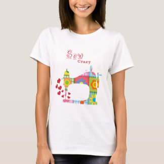 Sew Crazy Sewing T-shirt by Mini Brothers