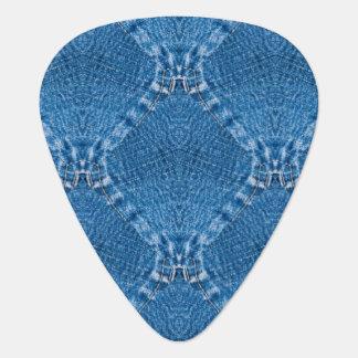 Sew Denim Groverallman Guitar Pick