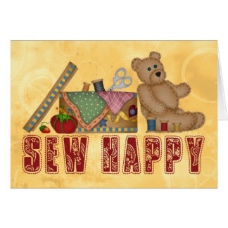 Sew Happy Card