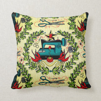 Sew Perfect Throw Pillow