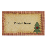 Sew Primitive Holiday Hang Tag Business Cards