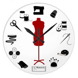 Sew Right Large Clock