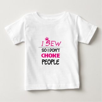 sew, sewing woman love baby T-Shirt