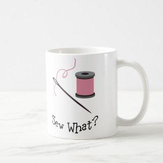 Sew What? Coffee Mugs