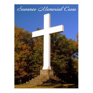 Sewanee Memorial Cross, TN Post Card