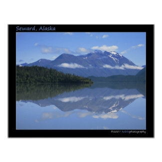 Seward, Alaska - Reflection #001 Poster