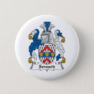 Seward Family Crest 2 Inch Round Button