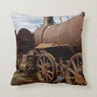 Seward Peninsula, Alaska, Train to Nowhere Throw Pillow