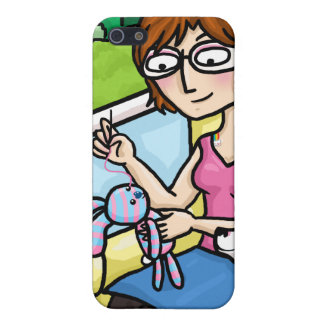 Sewing a sock doll cases for iPhone 5