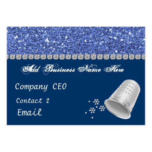 Sewing Bling Business Card