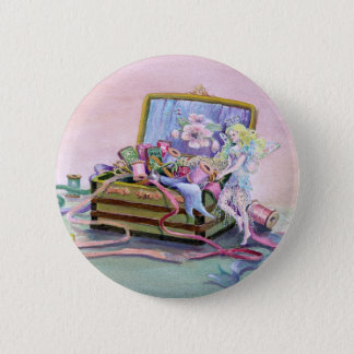 SEWING BOX FAEIRE by SHARON SHARPE 2 Inch Round Button