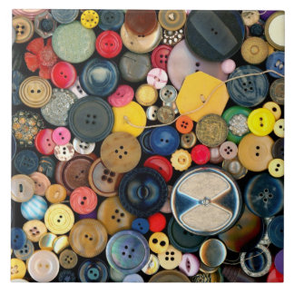 Sewing - Buttons - Bunch of Buttons Tile