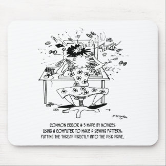 Sewing Cartoon 4112 Mouse Pad