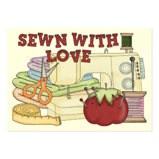 Sewing / Crafter Card Large Business Card