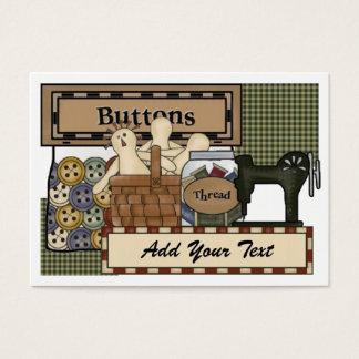 Sewing / Crafter / Seamstress Card / Tag - SRF