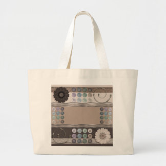 Sewing Enthusiast Large Tote Bag