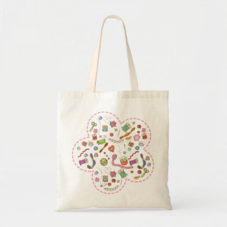 """Sewing fan"" bag"