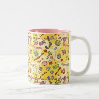 """""""Sewing fan"""" mug"""