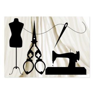 Sewing / Fashion / Seamstress - SRF Large Business Card