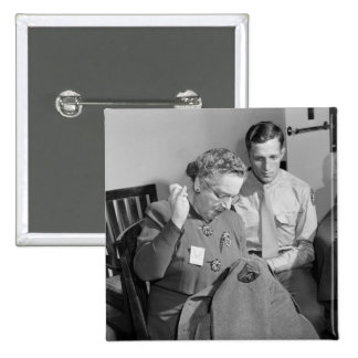 Sewing for the Cause 1943 Pin