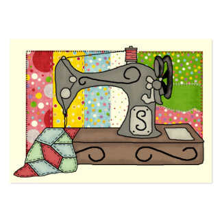 Sewing Gift Enclosure / Crafter Card Large Business Card