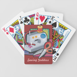 Sewing Goddess Poker Deck