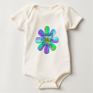 Sewing Happy Baby Bodysuit