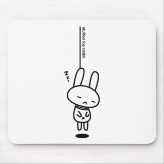 Sewing involving the rabbit/neck hanging sound mouse pad