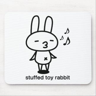 Sewing involving the rabbit/runrun feeling mouse pad