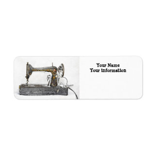sewing label return address label