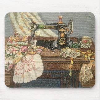 Sewing Machine and Dress Mouse Pad