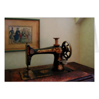 Sewing Machine and Lithograph Card