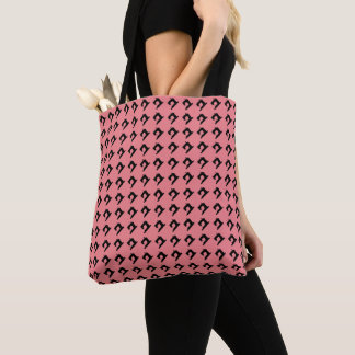 Sewing Machine Crafts Pattern Tote Bag