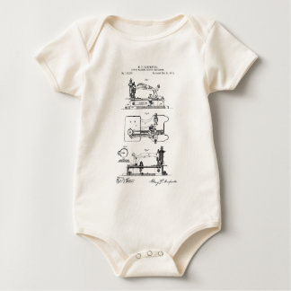 Sewing Machine feeding mechanism - Mary Carpenter Baby Bodysuit