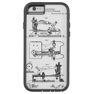 Sewing Machine feeding mechanism - Mary Carpenter Tough Xtreme iPhone 6 Case