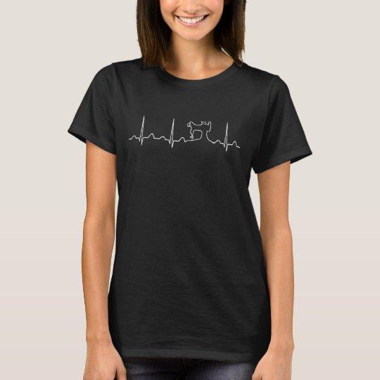 SEWING MACHINE HEARTBEAT T-Shirt