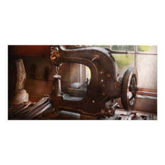 Sewing Machine - Leather - Saddle Sewer Picture Card