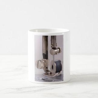 Sewing Machine Needle Closeup 11 Oz Magic Heat Color-Changing Coffee Mug