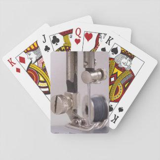 Sewing Machine Needle Closeup Playing Cards