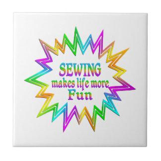 Sewing More Fun Tile