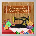 Sewing Nook Sign - Poster - SRF