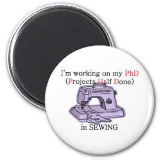 Sewing PhD Magnet