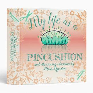 Sewing pincushion reflection crafts pattern binder